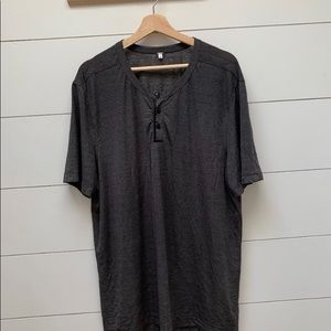 Mens Lululemon Button up metal vent